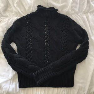 Black knit Express Sweater size XS
